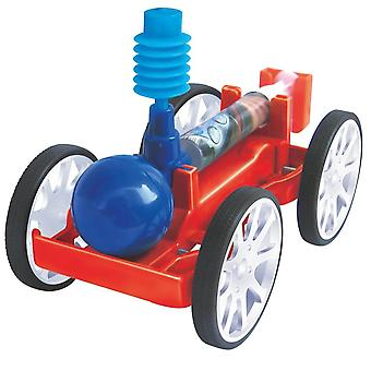 Creative Diy Assembly Air-powered Car Science Experiment Modèle early