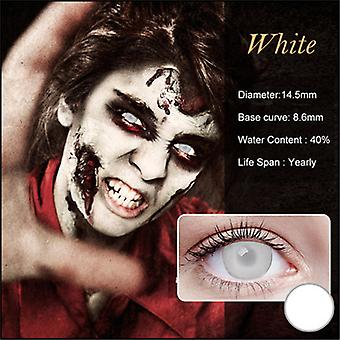Colored Charming Cosmetic Contact Lenses For Cosplay Halloween Party Christmas Holiday Gifts
