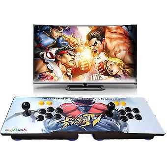 Console de jeu électronique. Arcade. Les consoles de jeux vidéo home ont intégré 2700 jeux. Le cadeau a 2 joysticks et 8 boutons.