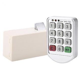 Elektroninen älykäs salasananäppäimistön kaapin ovikoodin lukitus