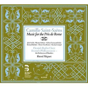 C. Saint-Seans - Camille Saint-Sa Ns: Music for the Prix De Rome [CD] USA import