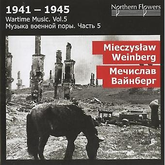 St.Petersburg State Academic Symphony Orchestra - Wartime Music 5 - M. Weinberg: Symphony [CD] USA import