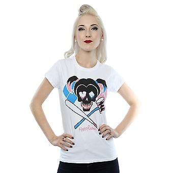 Suicide Squad Women's Harley Quinn Skull Emblem T-Shirt