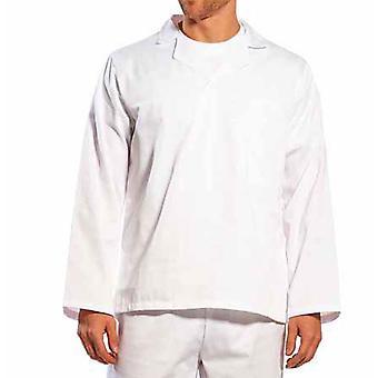 Portwest - Food Industry boulangers-traiteurs Long Sleeved Shirt col en v avec col