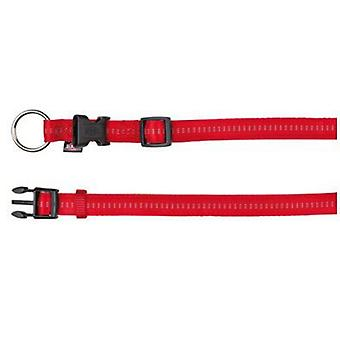 Trixie Soft Collar. Eleg.rojo / beige (Dogs , Collars, Leads and Harnesses , Collars)