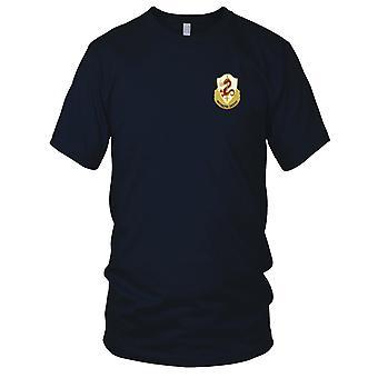 US Army - 204ème Infantry Regiment brodé Patch - Mens T Shirt