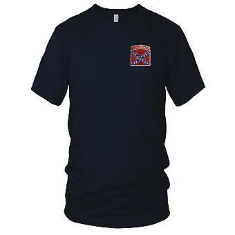 F * ck communisme - RT GA Georgië MACV-SOG CCN - ons SF opdracht Vietnamoorlog geborduurd Patch - Mens T Shirt