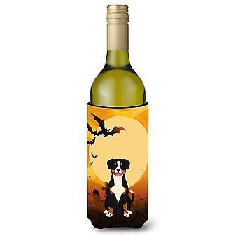 Halloween Entlebucher Wine Bottle Beverge Insulator Hugger