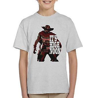 Overwatch McCree High Noon Kinder T-Shirt