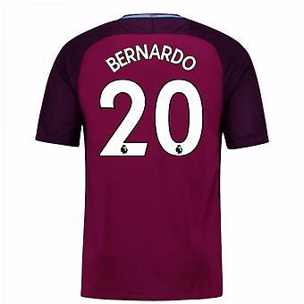 2017 / 18 mand City væk Shirt (Bernardo 20) - børn