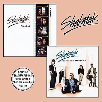 Shakatak - Bitter Sweet + Turn the Music Up [CD] USA import