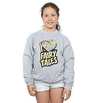 Disney Girls Beauty And The Beast I Love Fairy Tales Sweatshirt