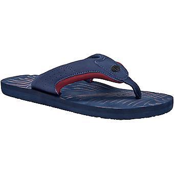 Animal Mens Jekyl AOP Comfort Nubuck Spandex Lined Flip Flop Sandals