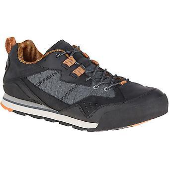 Merrell Herren verbrannt Rock Sneakers aus Leder Mesh Urban & leicht zu Fuß