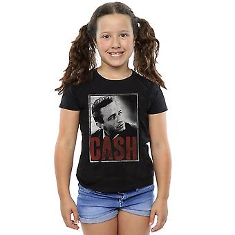 ジョニー ・ キャッシュの女の子現金写真 t シャツ