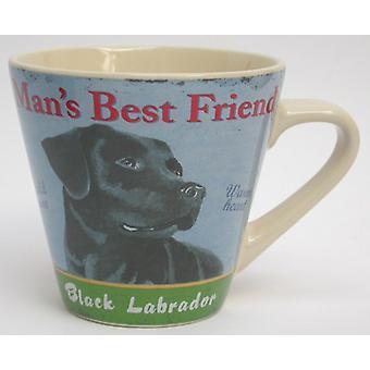 Martin Wiscombe conische hond Design mok, Labrador