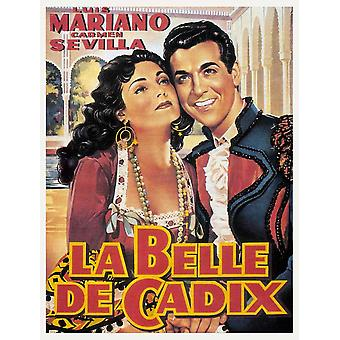La belle de Cadix elokuvajuliste (11 x 17)