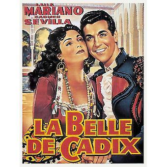 La belle de Cadix filmposter (11 x 17)