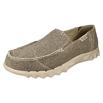 Mens Hey Dude Casual Canvas Shoes Farty Braided