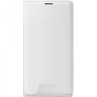 Samsung EF-WG900BHEG flip Wallet case for Galaxy S5 in pattern white