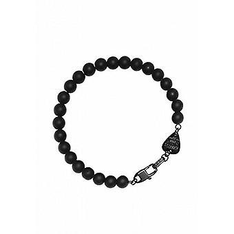 Guess ladies bracelet stainless steel Black Pearl UMB21508-S