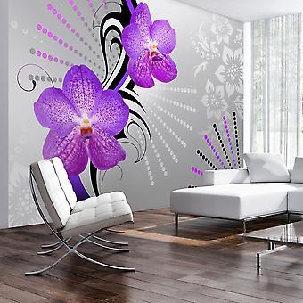 Fototapete - Purple vibrations