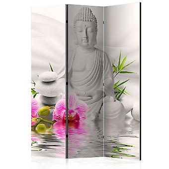 Paravento - Buddha and Orchids [Room Dividers]