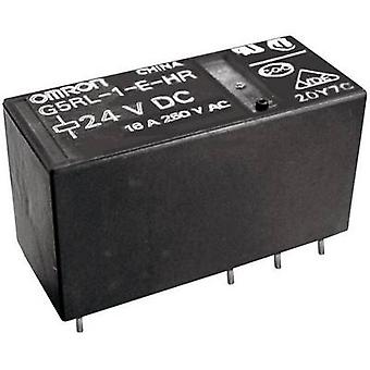 Omron G5RL-1-E-HR 12 VDC PCB relay 12 V DC 16 A 1 change-over 1 pc(s)