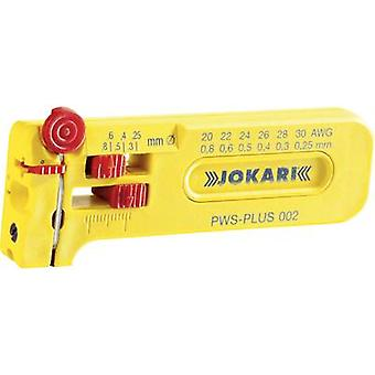 Jokari 40025 PWS Plus 002 Wire stripper Suitable for PVC-coated wires, PTFE wires 0.25 up to 0.80 mm