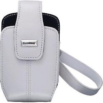 OEM BlackBerry 8700 8703e מעור בנרתיק-לבן