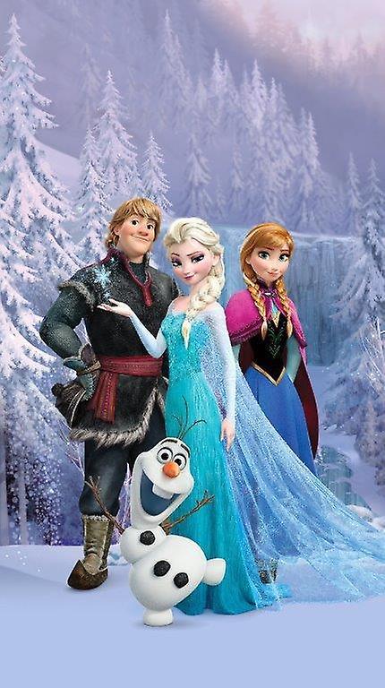 Disney Frozen Tenda per PorteFinestre Cameretta 140x245cm