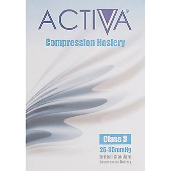Activa Compression Tights Tights Cl3 Stock Thigh Ot Sand 259-1303 Lge