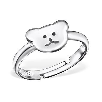 Bear - 925 Sterling Silver Rings - W28100x