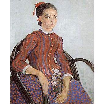 La Mousme, Vincent van Gogh, 73x60cm
