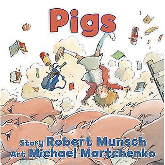 كتاب الخنازير بروبرت مونش-مايكل مارتشينكو-9781554516285