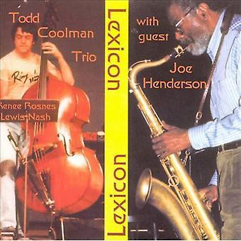 Todd Coolman Trio - With Joe Henderson [CD] USA import