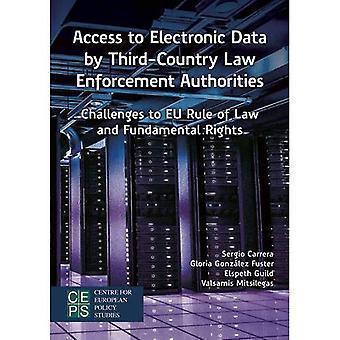 Toegang tot elektronische gegevens door wetshandhavingsinstanties van derde landen: uitdagingen voor de EU-rechtsstaat en fundamentele...