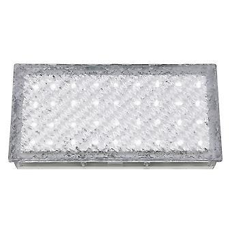 Światło LED do walkower biały prostokąt wewnątrz i na zewnątrz - Searchlight 9915WH