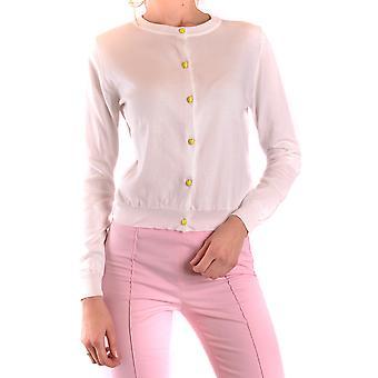 Moschino Ezbc015038 Women's White Cotton Cardigan