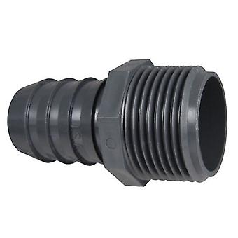 Spears 1436015 Poly Pipe 1.5 PVC MPT x Insert Male Adapter 1.25