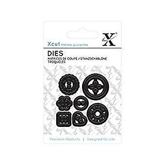 Xcut Mini Die – Buttons (7pcs)