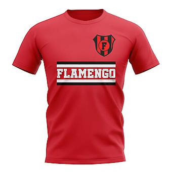 فلامنغو الأساسية لكرة القدم نادي تي شيرت (الأحمر)