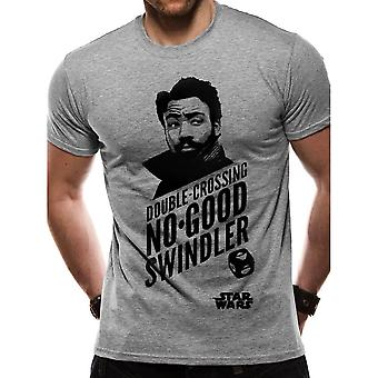 Star Wars Han Solo filme Lando T-shirt