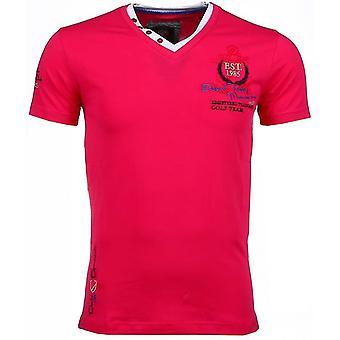E T-shirts - Short Sleeves - Riviera Club - Pink