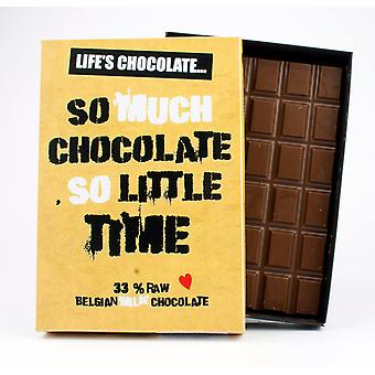 Funny Boxed Chocolate Quote Gift For Men Women Best Friend Greeting Card for Him or Her LC103