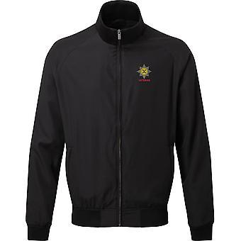 Irish Guards Veteran - Licensed British Army Embroidered Harrington Jacket