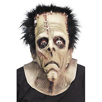 Maska potwór nad głową LaTeX