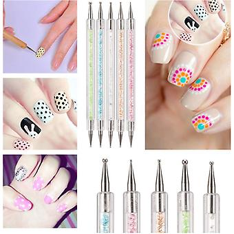 5. Diferite - Marbleizing Dotting Nail Art Pen