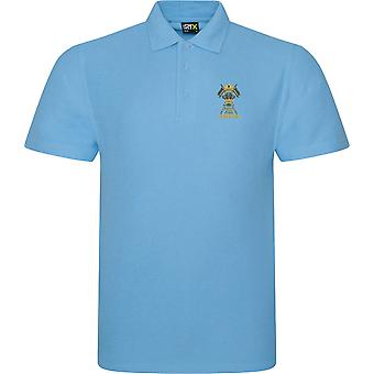 12. Royal Lancers veteran-licenseret British Army broderet RTX Polo