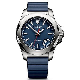 Victorinox Stainless Stainless Watch for Analog Man Quartz With Rubber Bracelet V241688.1